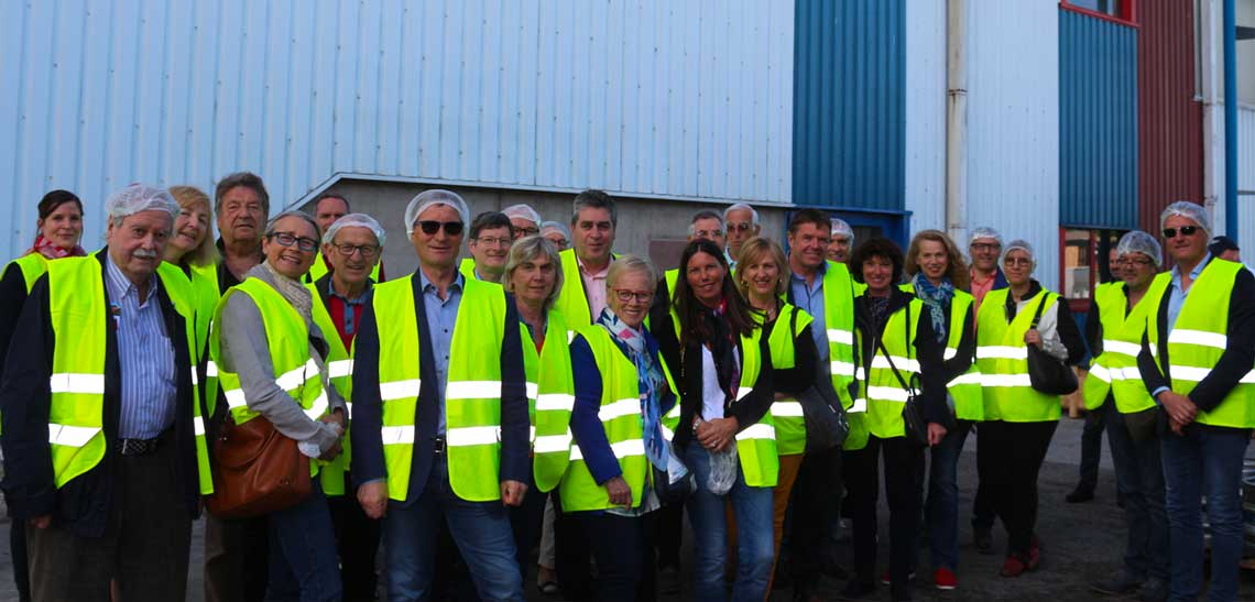 Visite de la Brasserie «  La Licorne »  à Saverne, le 28 mai 2019