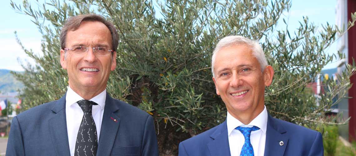 Olivier MARZOLF, nouveau président, remplace Didier WEINBORN