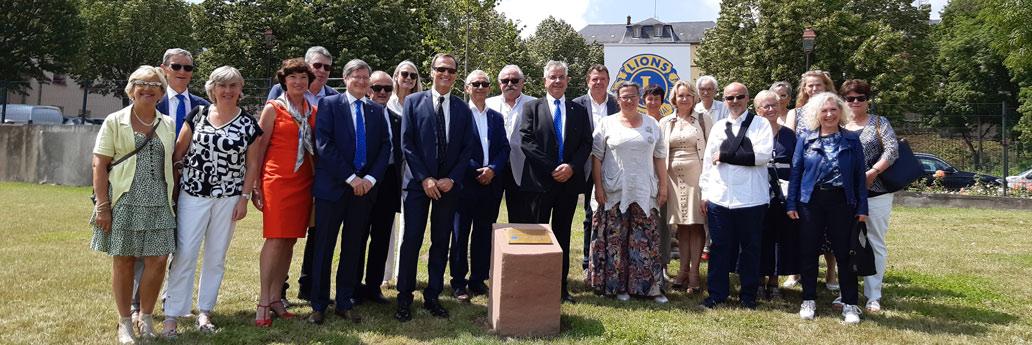 50 ans de Lions Club à Saverne. L'arbre de la commémoration.